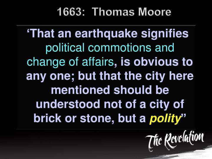 1663:  Thomas Moore