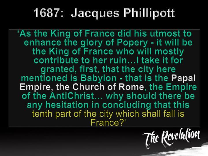 1687:  Jacques