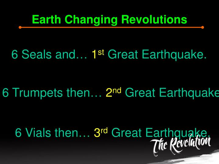 Earth Changing Revolutions