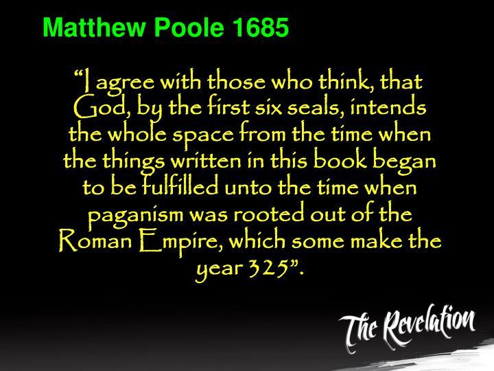 Matthew Poole 1685