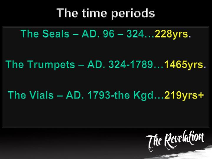 The time periods