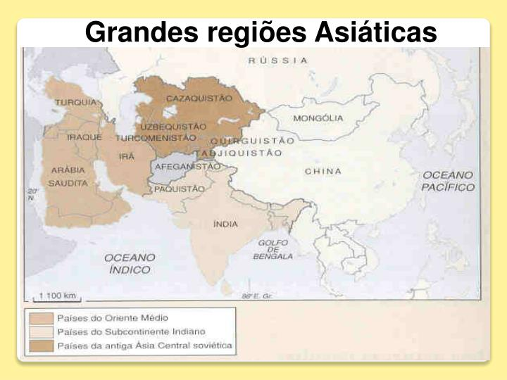 Grandes regiões Asiáticas