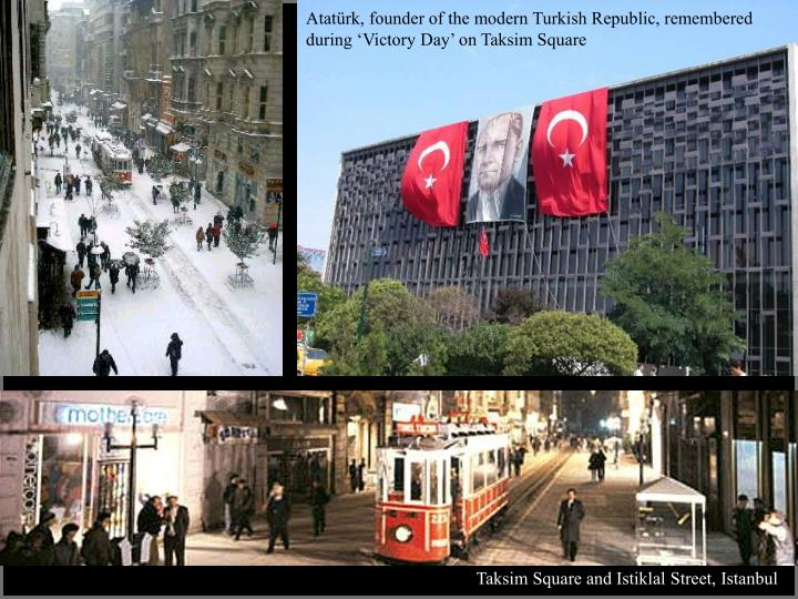 Atatürk, founder of the modern Turkish Republic, remembered during 'Victory Day' on Taksim Square