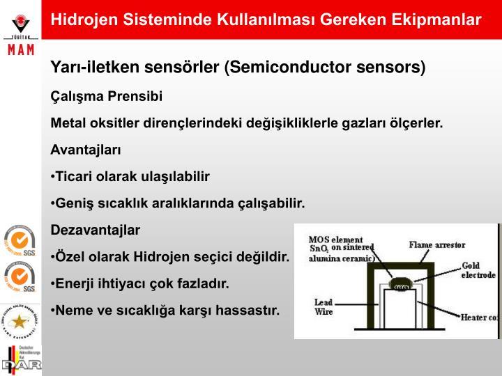 Hidrojen Sisteminde Kullanılması Gereken Ekipmanlar