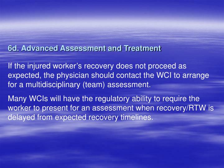 6d. Advanced Assessment and Treatment