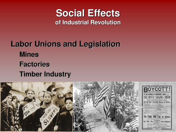 the effects of the industrial revolution on the european society How did the second industrial revolution affect the the impact of this change on society was enormous second industrial revolution effects.