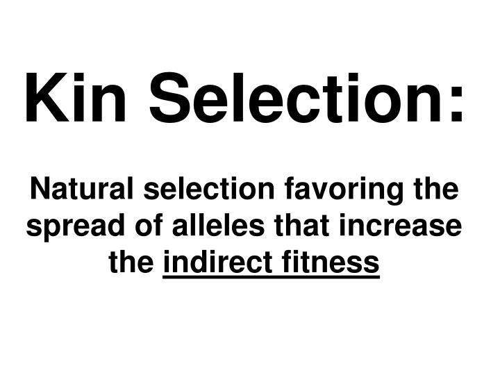 Kin Selection: