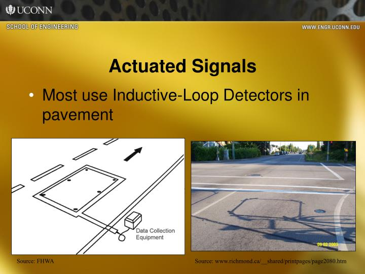 Actuated Signals