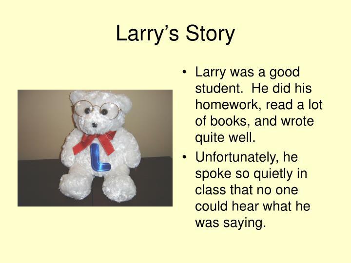 Larry's Story