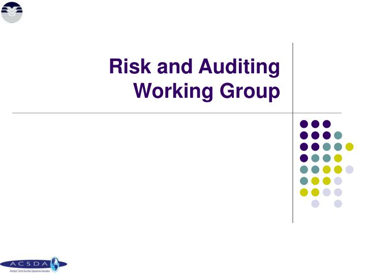 Risk and Auditing