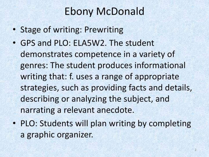 Ebony McDonald