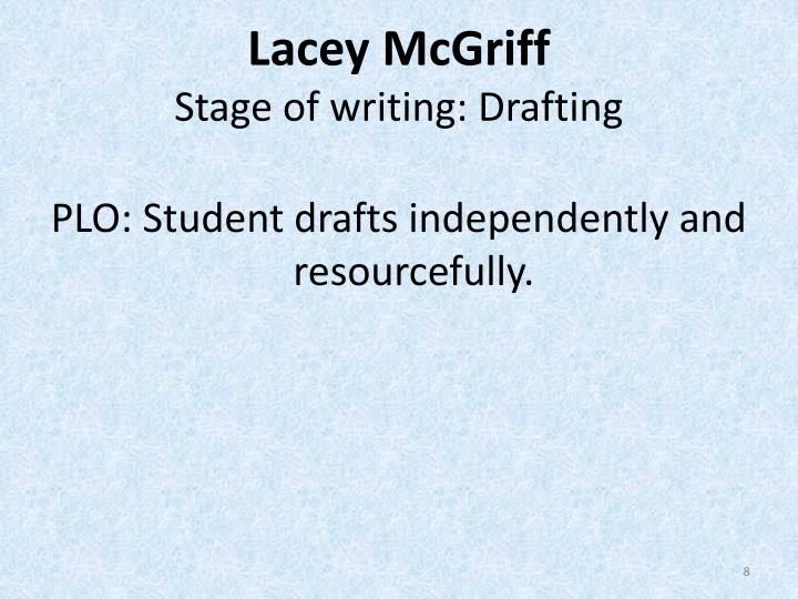 Lacey McGriff