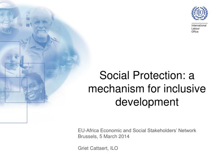 Social protection a mechanism for inclusive development