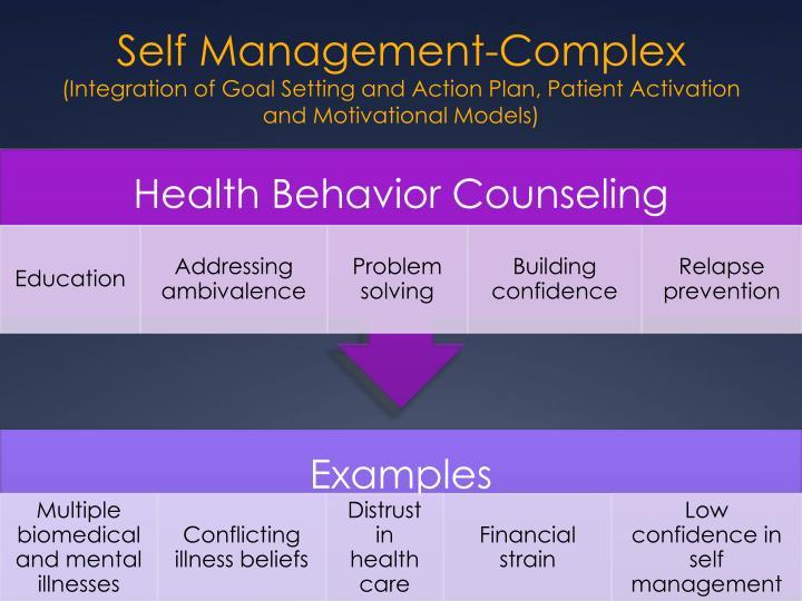 Self Management-Complex