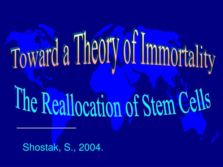Toward a Theory of Immortality