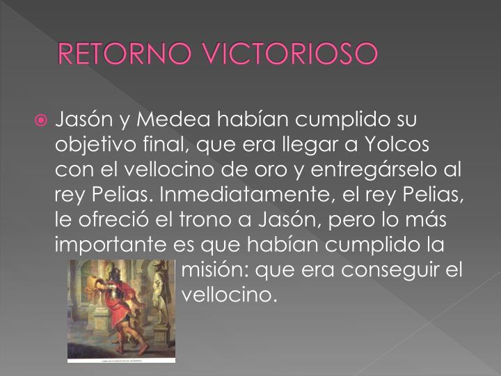 RETORNO VICTORIOSO