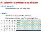 iv scientific contributions of islam