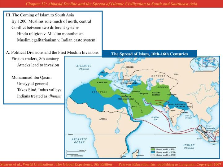 III. The Coming of Islam to South Asia
