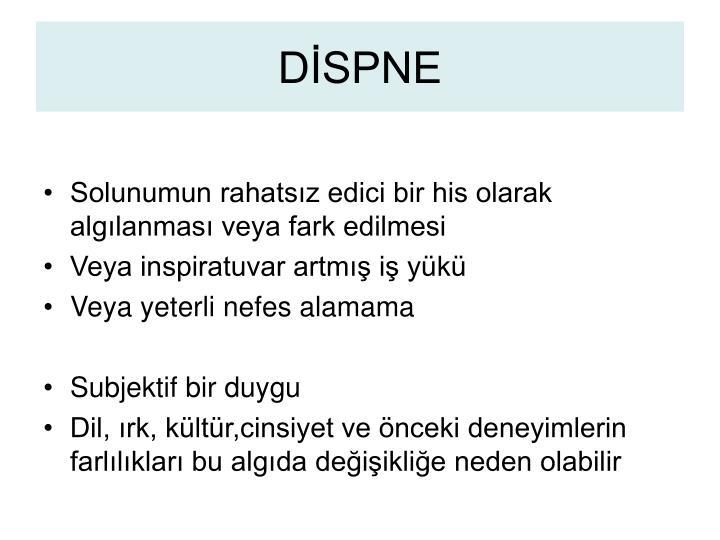 DİSPNE