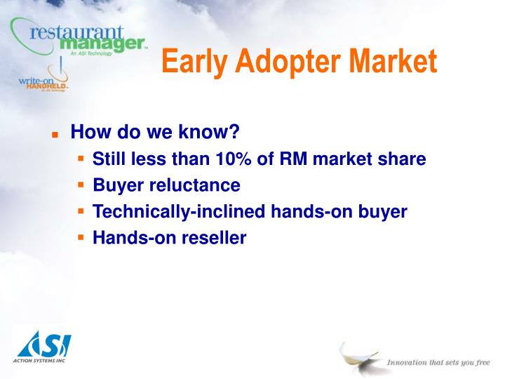 Early Adopter Market