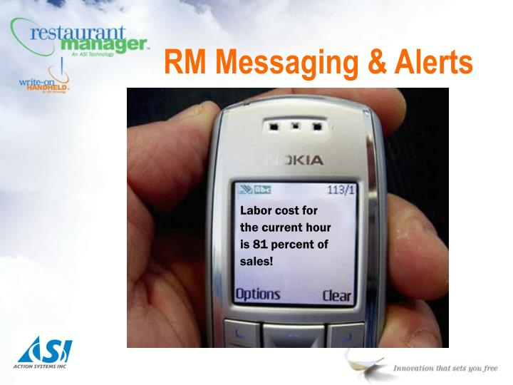 RM Messaging & Alerts