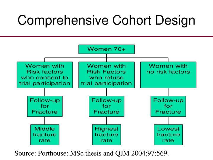 Comprehensive Cohort Design