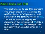 public coins and gni1