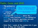 public coins and gni2