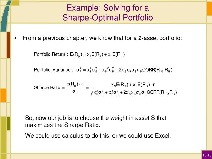 Example: Solving for a