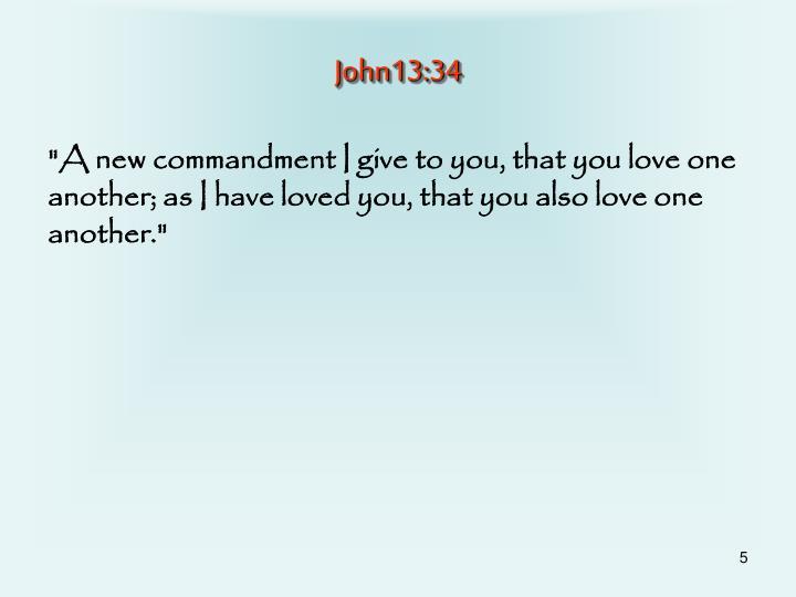 John13:34
