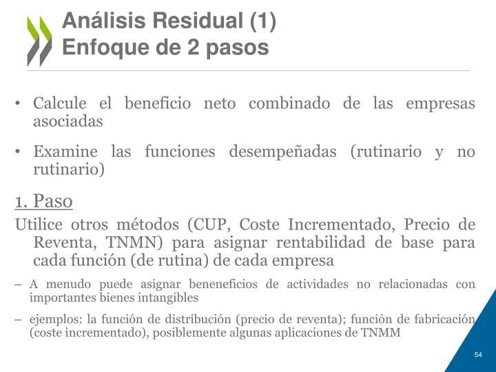 Análisis Residual (1)