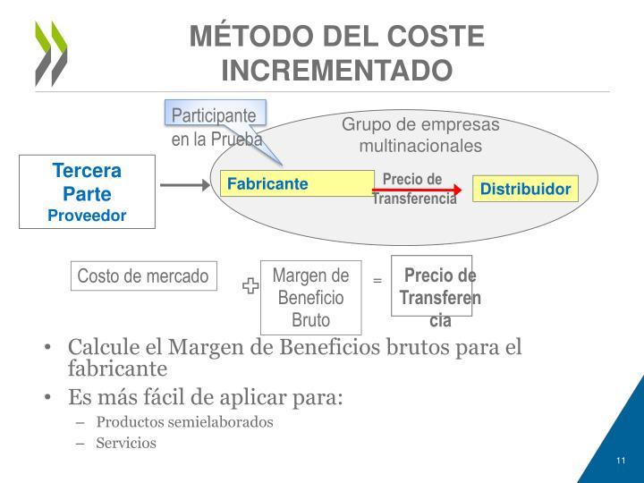 MÉTODO DEL COSTE INCREMENTADO