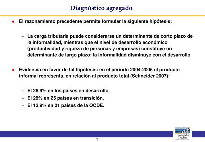 Diagnóstico agregado