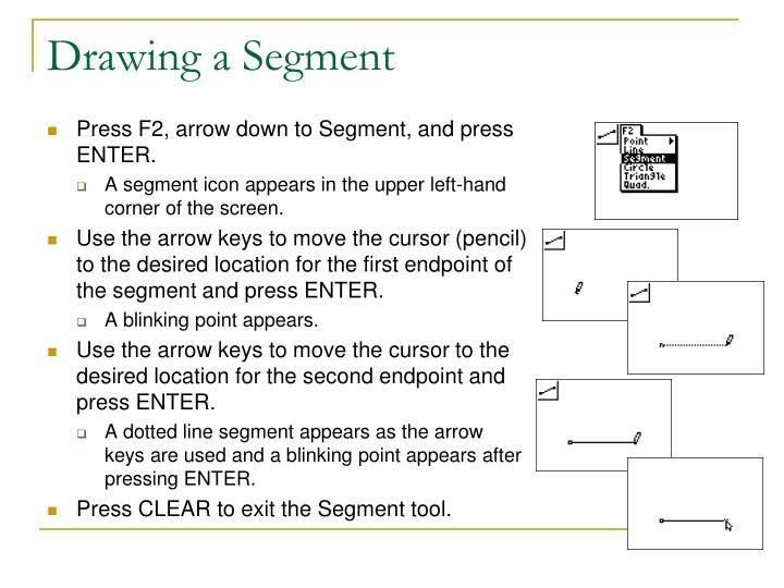 Drawing a Segment