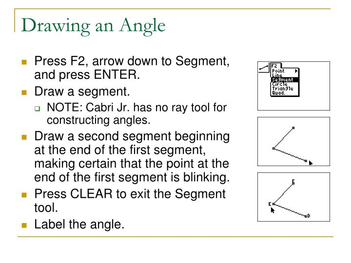 Drawing an Angle