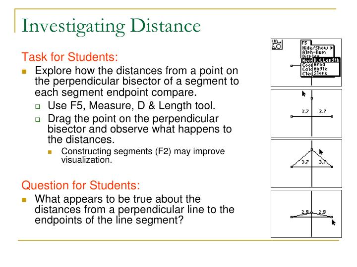 Investigating Distance