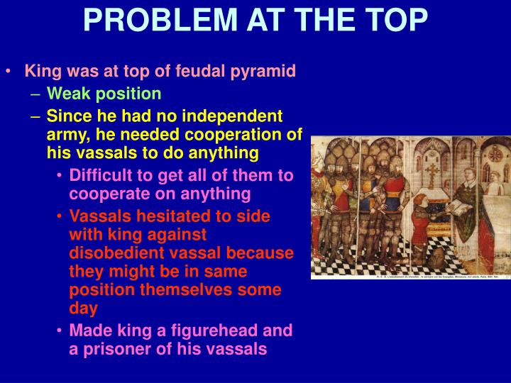 PROBLEM AT THE TOP