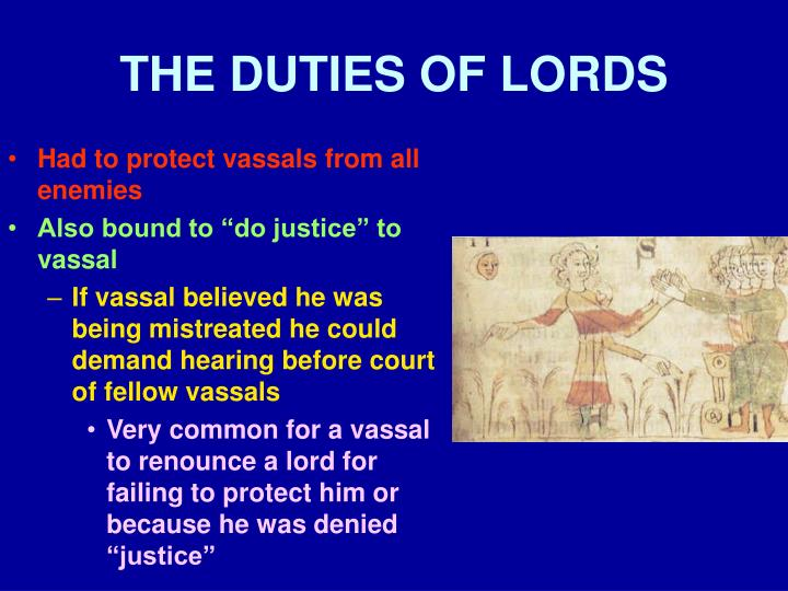 THE DUTIES OF LORDS