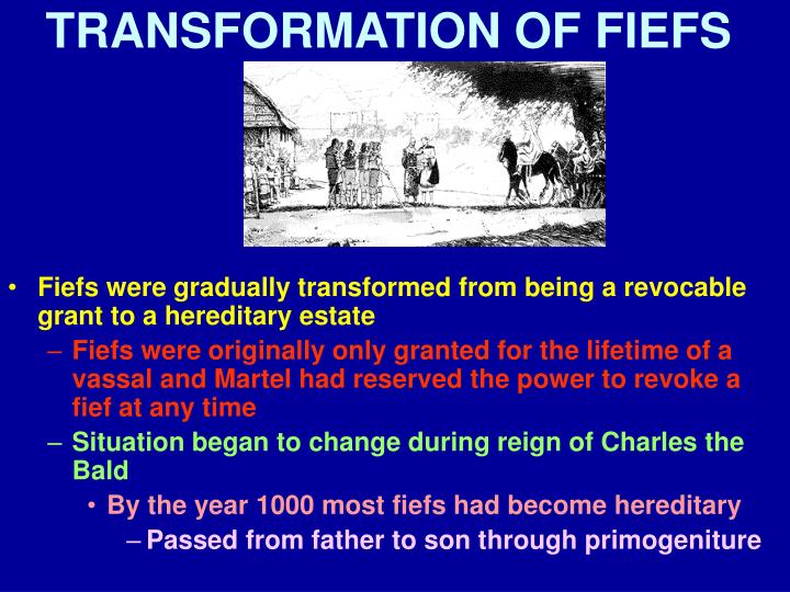 TRANSFORMATION OF FIEFS