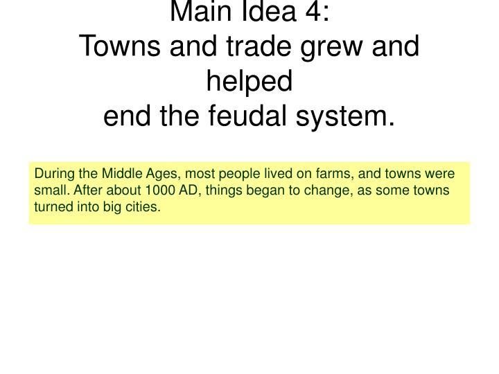 Main Idea 4: