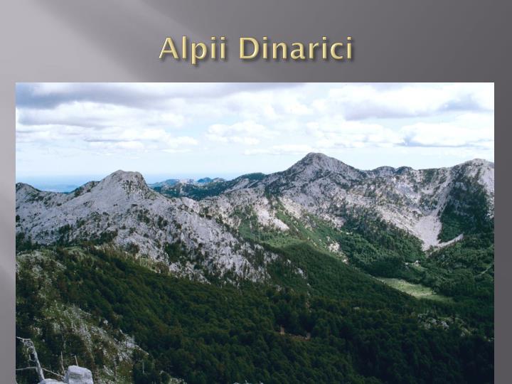 Alpii Dinarici