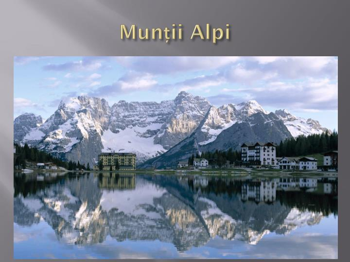 Munții Alpi