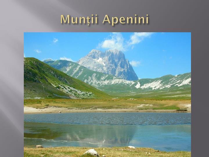 Munții Apenini