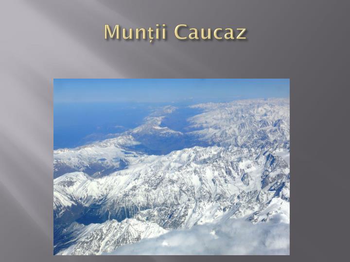 Munții Caucaz