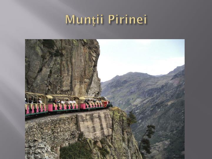 Munții Pirinei