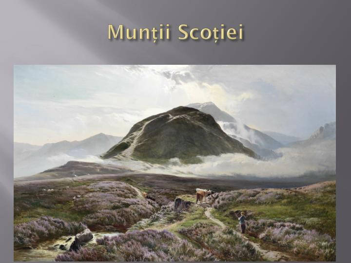 Munții Scoției