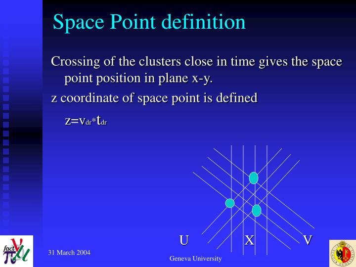 Space point definition