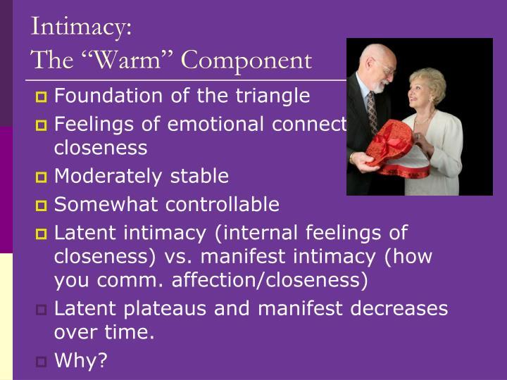 Intimacy: