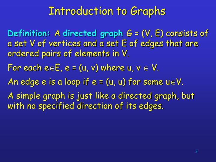 Introduction to graphs1