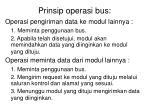prinsip operasi bus